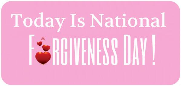 National Forgiveness Day