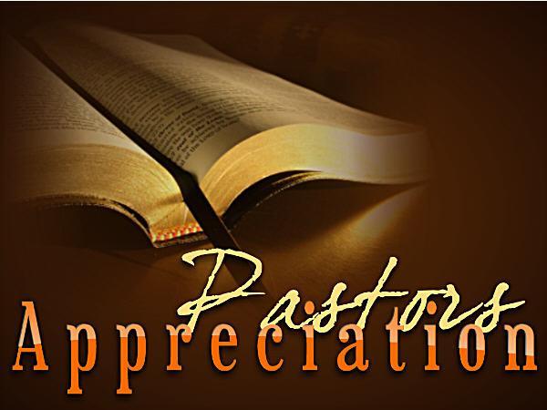 Pastor Appreciation Day