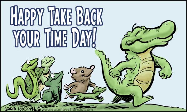 Take Back Your Time Day