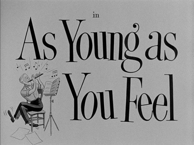 As Young as You Feel Day