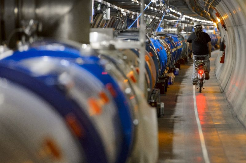 Blame It on the Large Hadron Collider Day