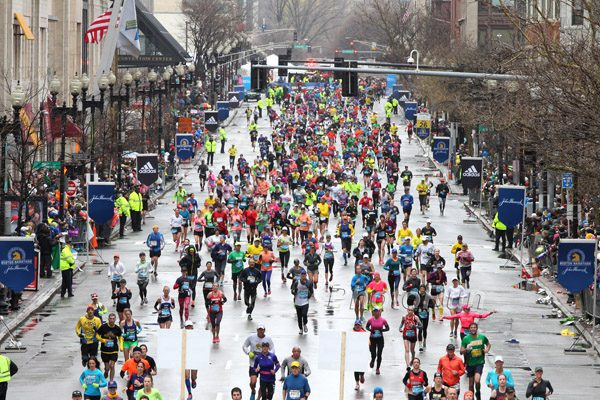 The Boston Marathon Day