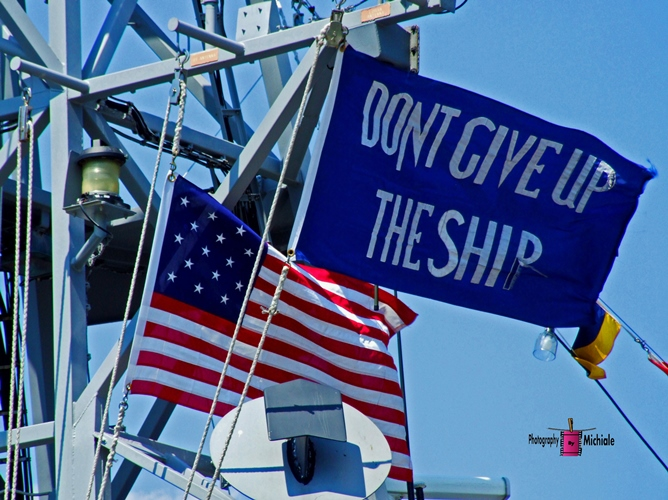 Don't Give Up The Ship Day