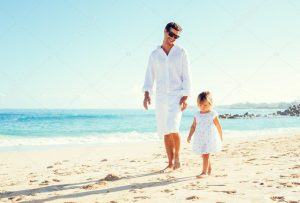 Father-Daughter Take a Walk Together Day