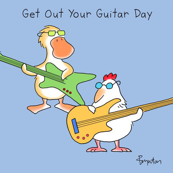 Get Out Your Guitar Day