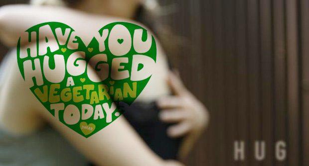 Hug a Vegetarian Day