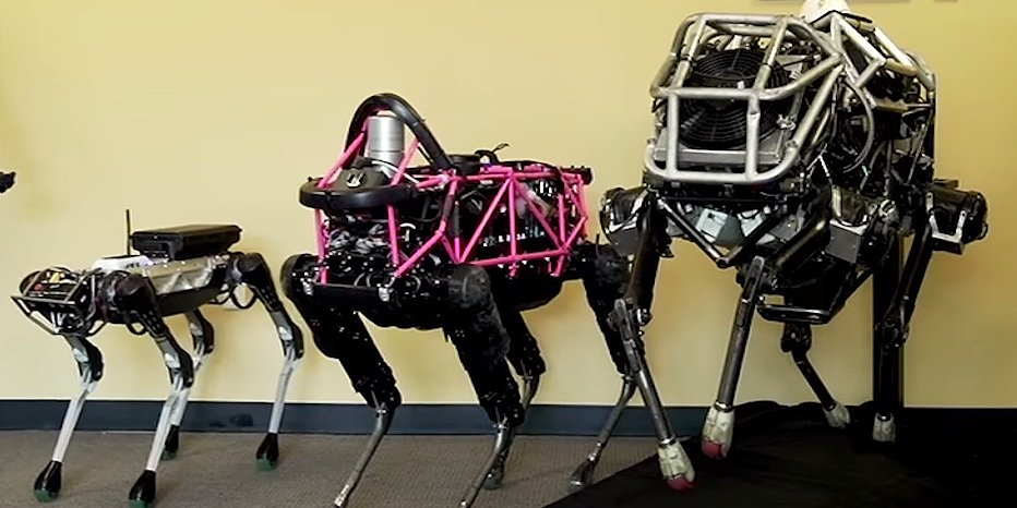 International Creepy Boston Dynamics Robotic Horse Day