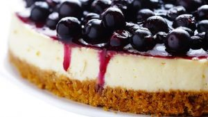 National Blueberry Cheesecake Day