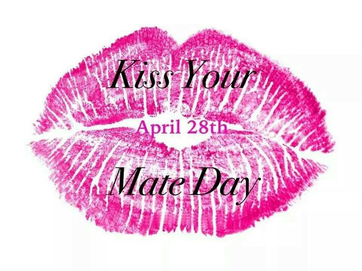 National Kiss Your Mate Day