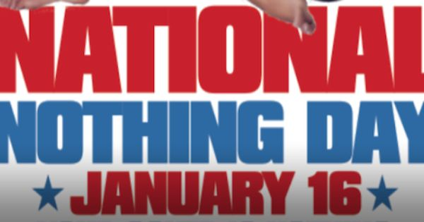 National Nothing Day
