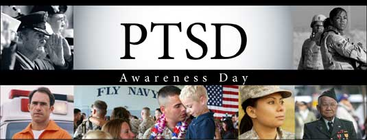 National Post Traumatic Stress Disorder Awareness Day