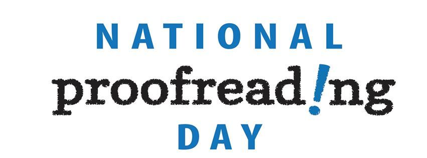 National Proofreading Day