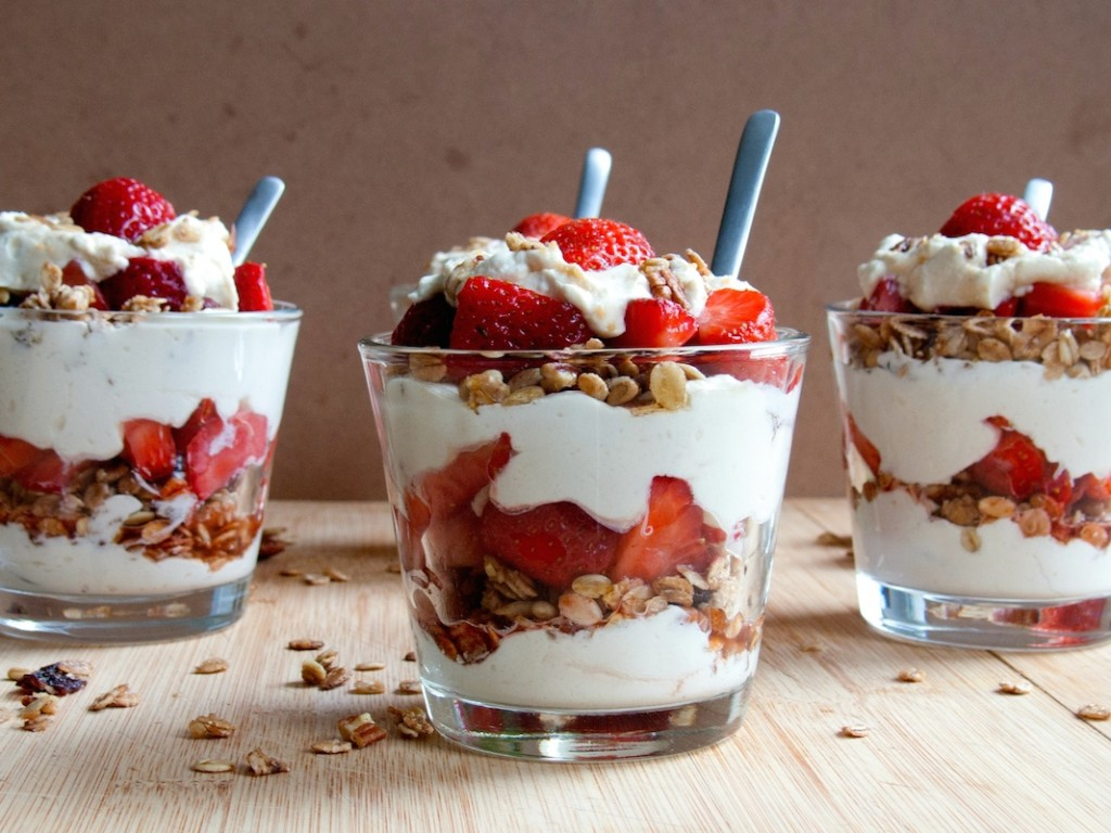 National Strawberry Parfait Day