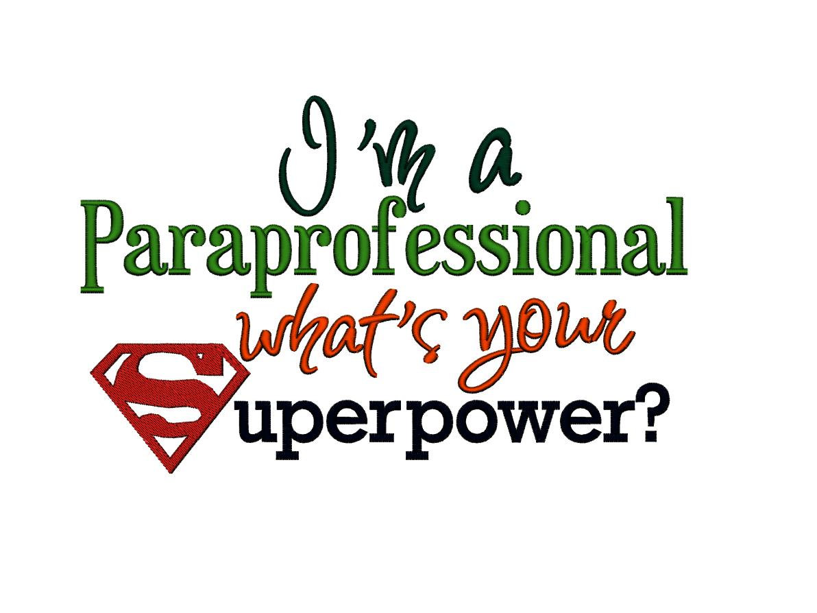 Paraprofessional Appreciation Day