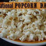 Popcorn Lovers Day