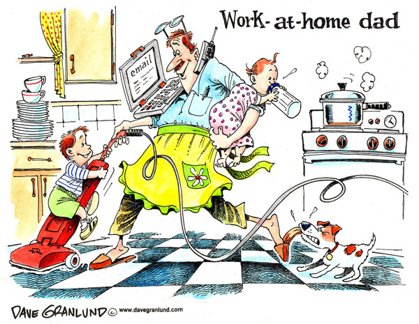 Work at Home Father's Day