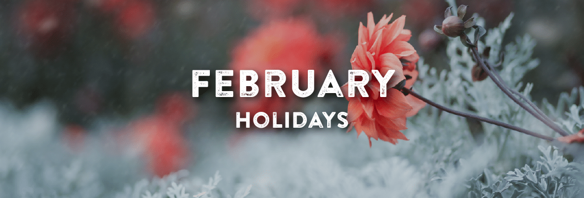 Holidays in February. Your Favorite Holidays and Celebartions.