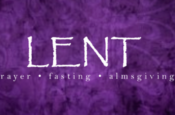 A Reflection for Lent